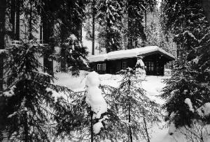 Bild:  W. Thörner Hütte, ca. 1990
